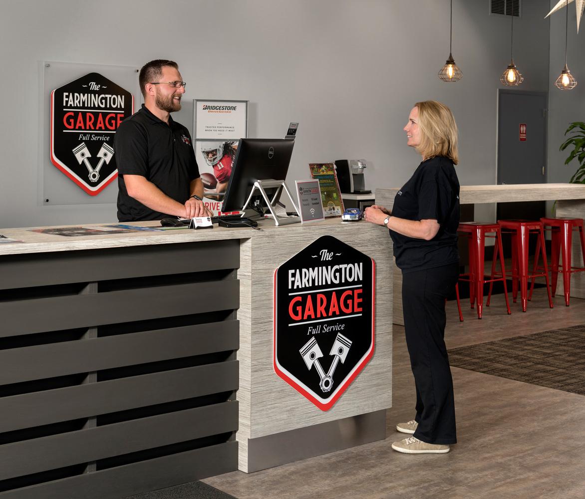 photo of car repair shop garage