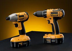 photo of dewalt drills