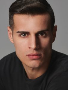 men's headshot for acting and modeling