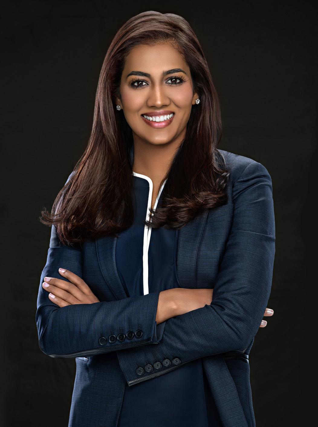 portrait of a business woman in MI