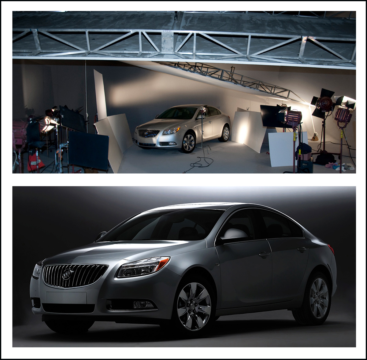 automotive photo shoot for Buick