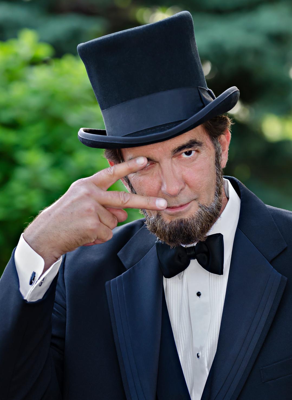 Abraham Lincoln Look Alike Ron Carley