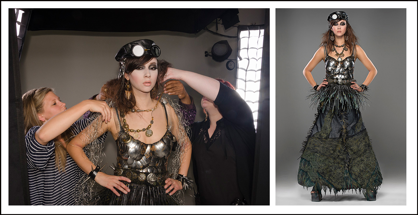 fashion photo shoot in our photography studio