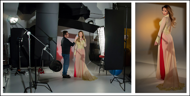 photo session for fashion catalog
