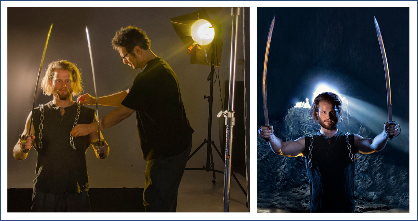 creative photography for acting headshots