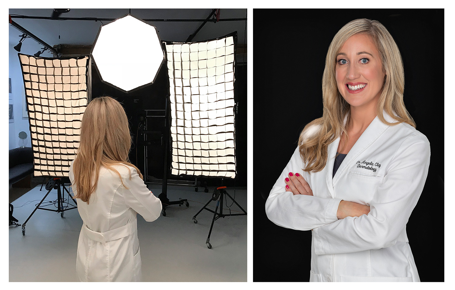 photo of a doctor for websites and social media