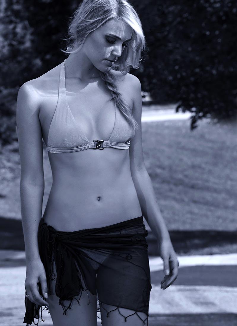 swimwear photo of model for