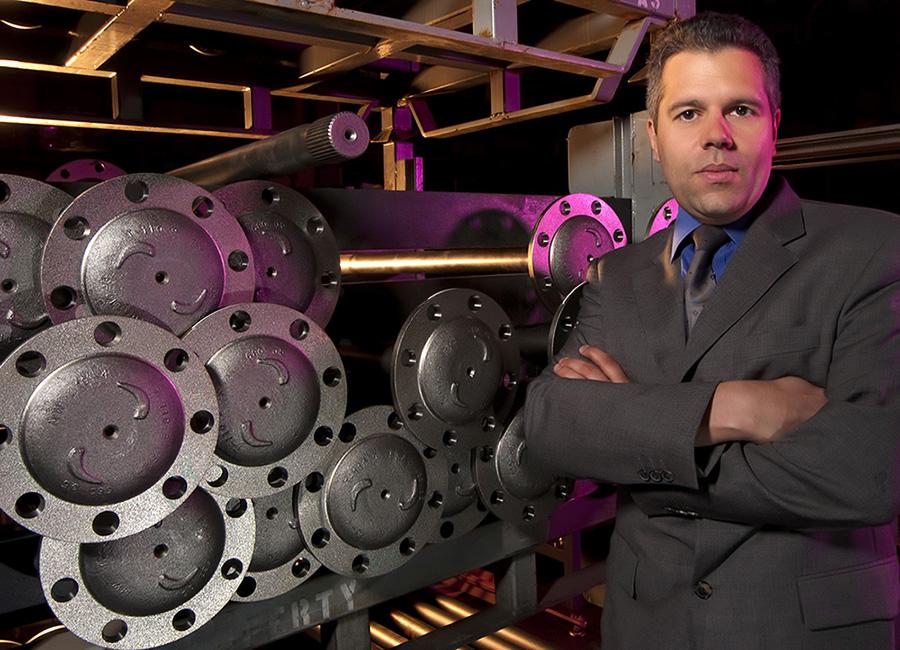 business portraits for Detroit Diesel