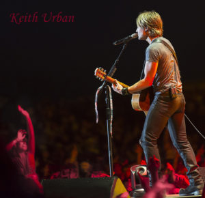 keith urban performing live