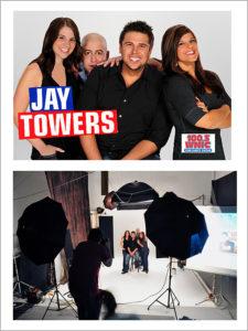 photo session for radio tv stars