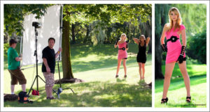 photography workshop with models