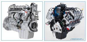 car engine photography