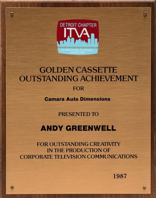 Andy's Golden Cassette Award For Camera Auto Dimensions