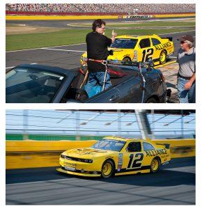 NASCAR on track racing photos