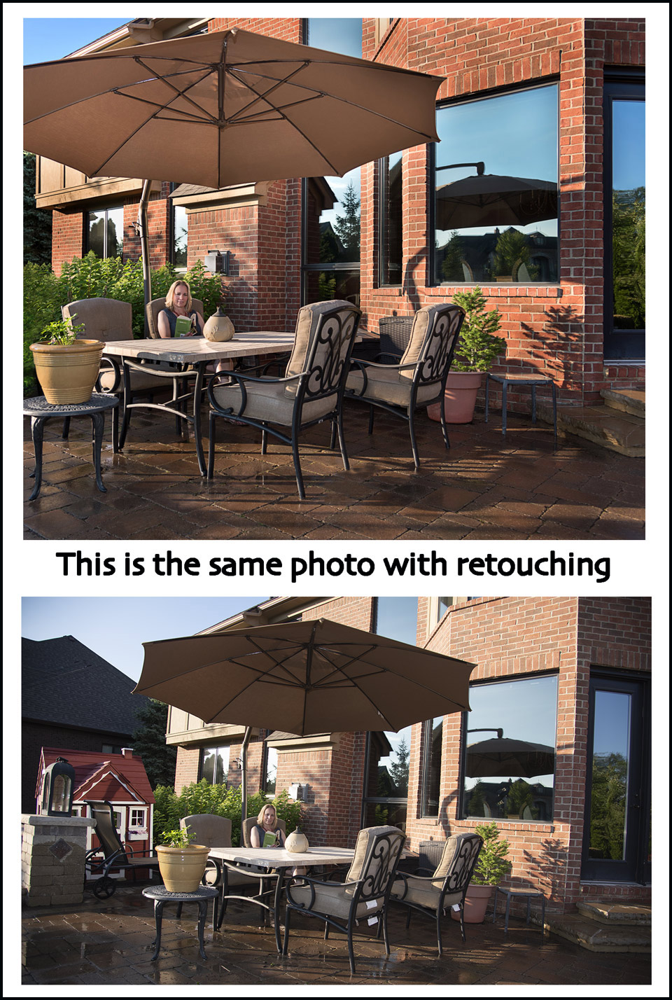 photography of patio and deck furniture
