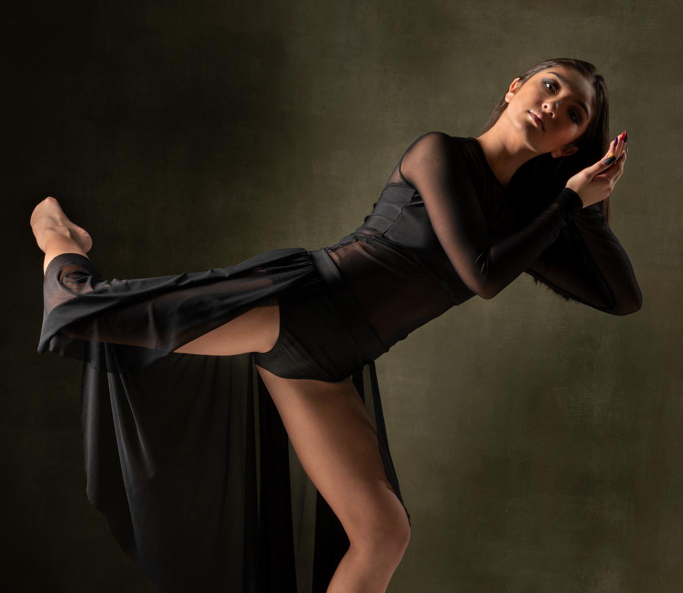 fashion photography of a dancer