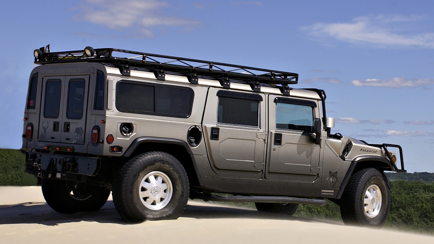 SUV photography of a Hummer