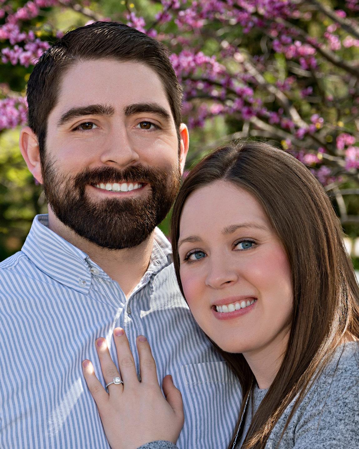 engagement photography wedding announcement