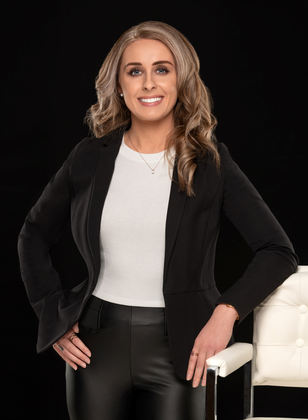 business headshot of real estate agent realtor