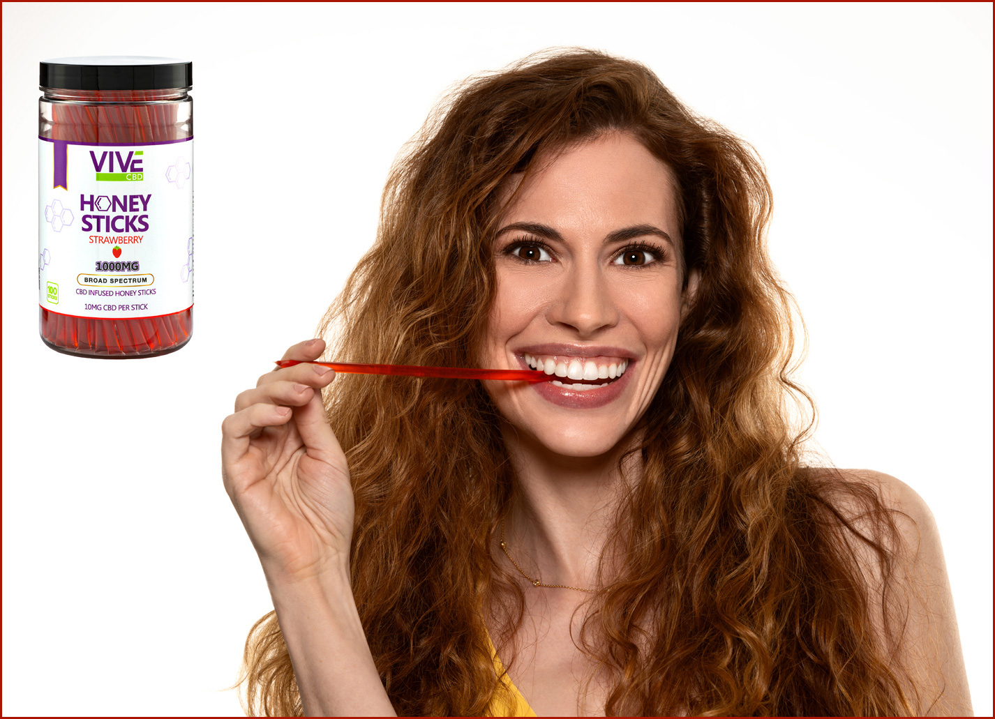 photography of a model with products for website advertising
