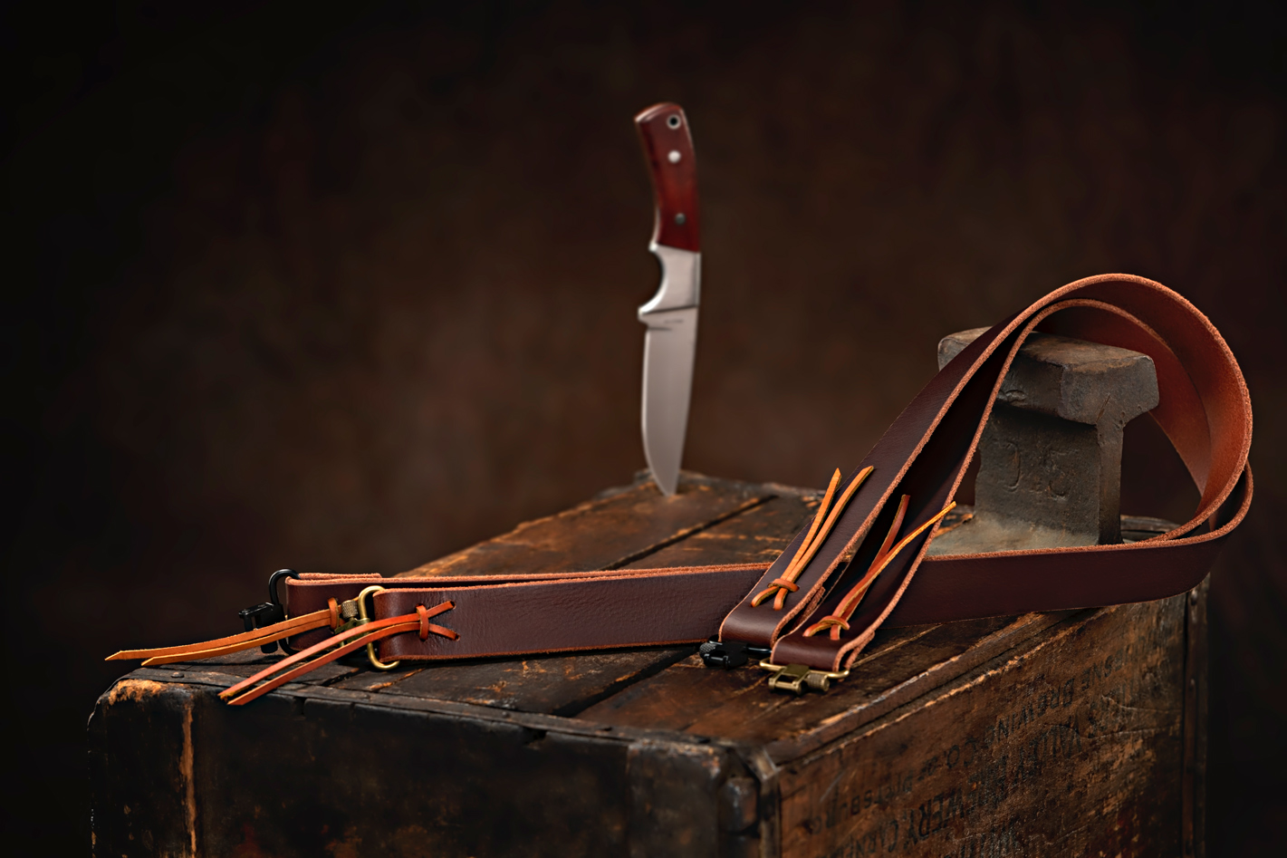 product photography of leather
