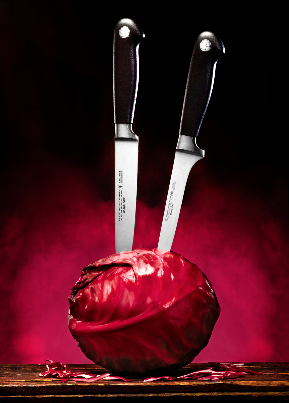 photo of knives and cutlery