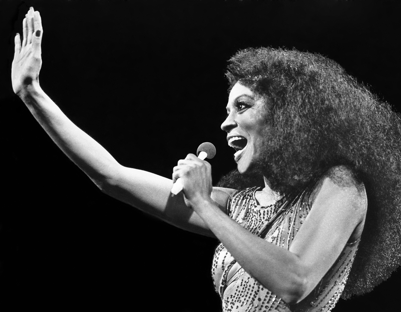 Diana Ross in concert