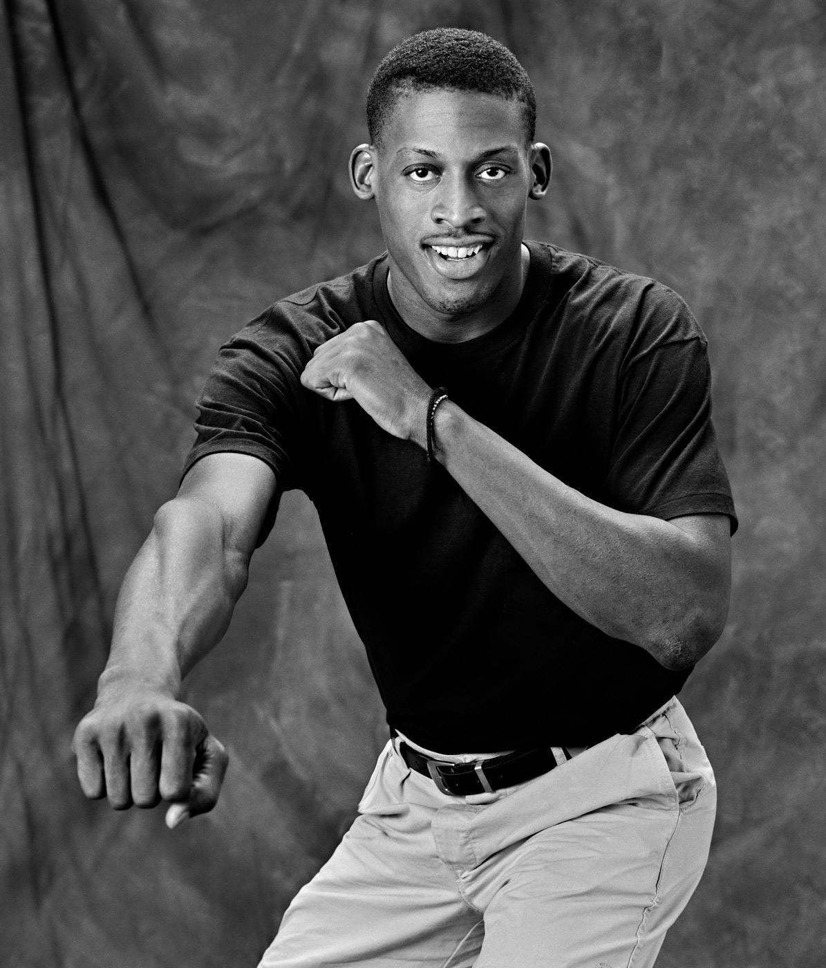 Dennis Rodman Detroit Pistons