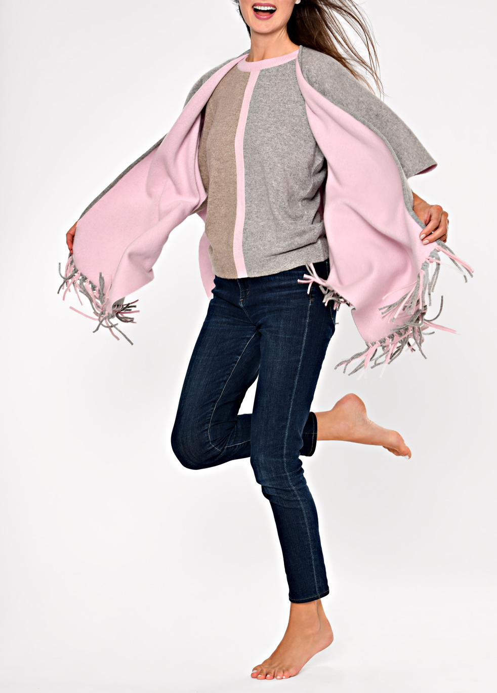 catalogue photography sweaters scarves