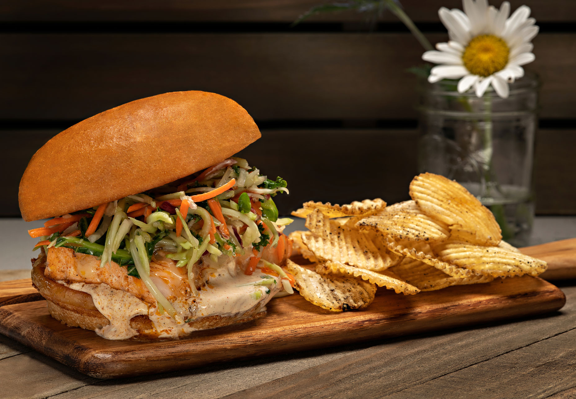 food photography for restaurant menu advertising