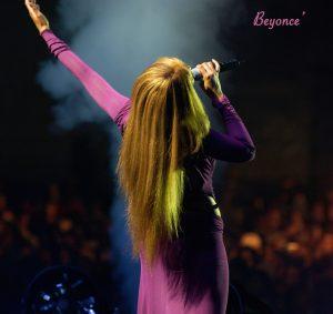 Beyonce in concert