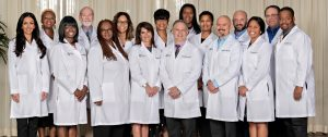 professional group photo of doctors