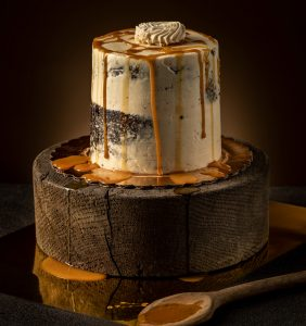 professional food photography of pastry desserts cakes