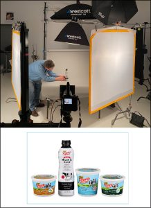 commercial photography of products in Detroit studio